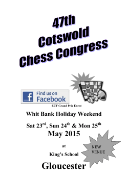 Gloucester - Cotswold Congress