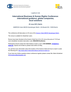 International Business & Human Rights Conference