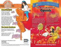 Opioids Opioids - National Institute on Drug Abuse