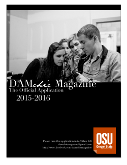 DAMchic Magazine Applications general (2)