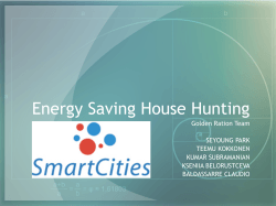 Energy Saving House Hunting - Aalto Data Science Hackathon