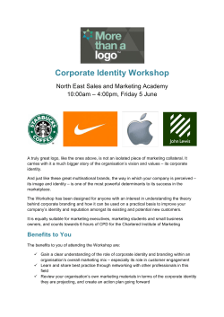 Corporate Identity Workshop