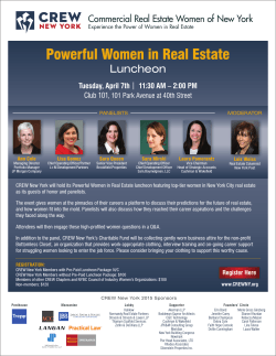 Powerful Women in Real Estate
