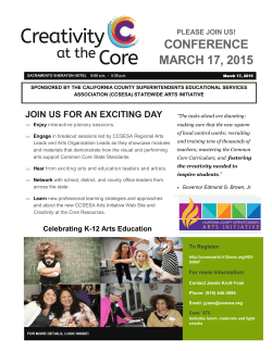 Creativity At The Core Conference Flyer 3