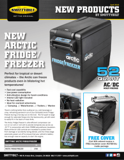 NEW ARCTIC FRIDGE/ FREEZER - Downloads