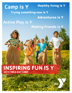 YMCA Summer Camp - Drug Free Nevada County
