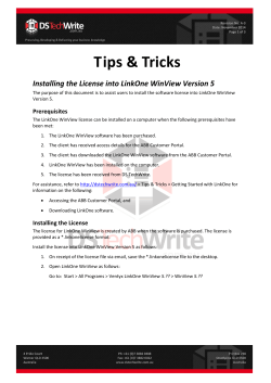 Tips & Tricks - DS Techwrite