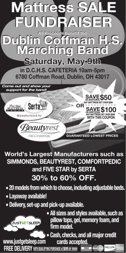 DOWNLOAD Coffman Mattress Sale Flyer