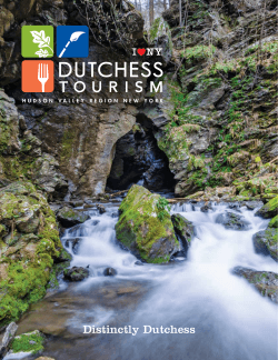 Travel Guide 8.79MB PDF - Dutchess County Tourism