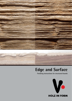 Edge and Surface