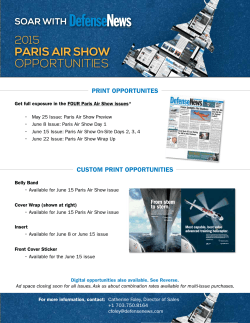 paris air show - Military Times