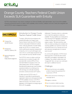 Orange County Teachers Federal Credit Union Exceeds