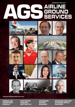 AGSAIRLINE GROUND SERVICES