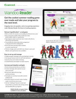more information on Wandoo Reader.
