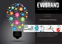 Our Brochure - EVOBRAND Marketing Solutions