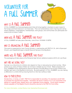 what is a full summer? when will a full summertake place? where