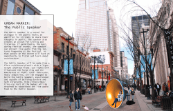 URBAN MARKER: The Public Speaker