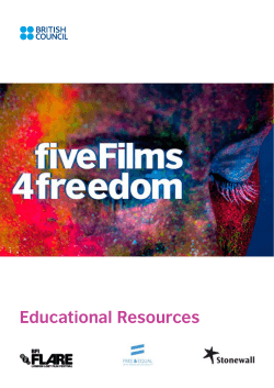 Educational Resources - British Council Film