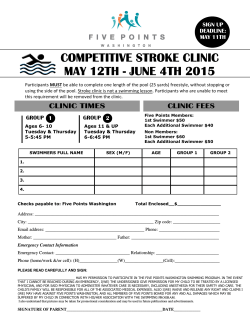 Stroke Clinic Registration