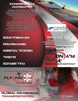 air medical transport options