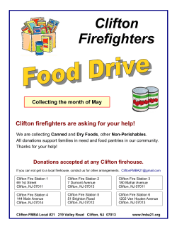 food drive flyer 2015