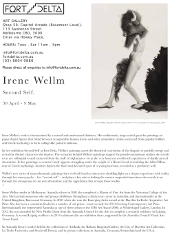 Irene Wellm - Fort Delta