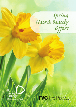 Spring Hair & Beauty Offers