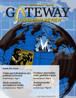 GJR Vol. 45 - Gateway Journalism Review