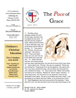Pace Newsletter – April 2015