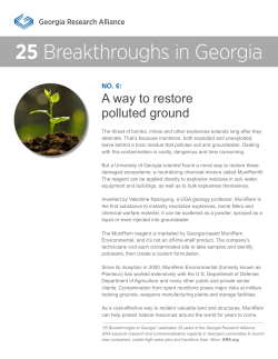 25 Breakthroughs in Georgia