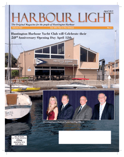 HL April 15.indd - Harbour Light Magazine