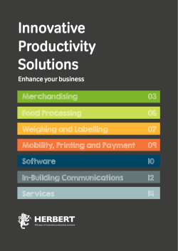 Innovative Productivity Solutions