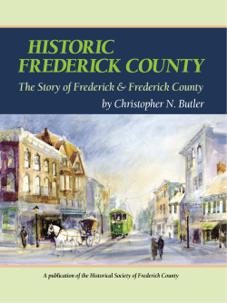 HISTORIC FREDERICK COUNTY