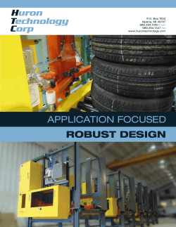 application focused robust design
