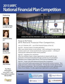 National Financial Plan Competition