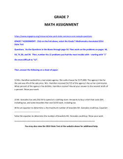 easter recess assignment and math help