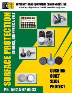 CUSHION QUIET SLIDE PROTECT