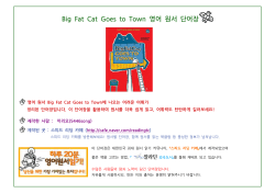 Big Fat Cat Goes to Town 영어 원서 단어장
