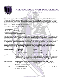 Independence High School Band