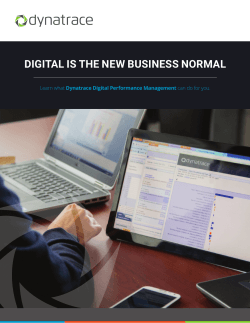 digital is the new business normal