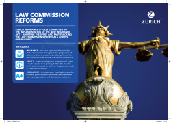 Law Commission Reforms - Insider