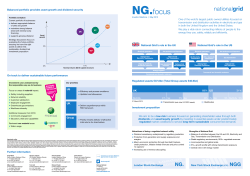 NG.focus - National Grid: Investors