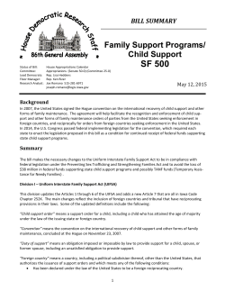 Child Support Programs