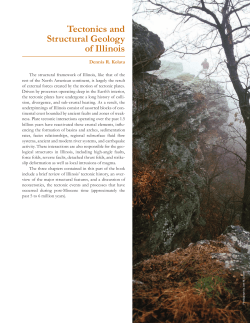 Tectonics and Structural Geology of Illinois