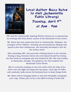 JPL and the Jacksonville Aspiring Writers Group are co