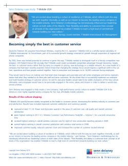 Becoming simply the best in customer service
