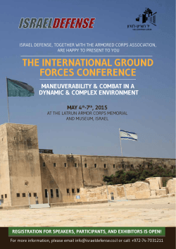 THE INTERNATIONAL GROUND FORCES CONFERENCE