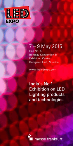 Show preview - LED Expo Mumbai
