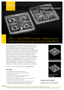 2X2MX family Product release