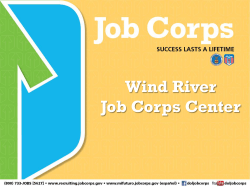 Wind River Job Corps Center